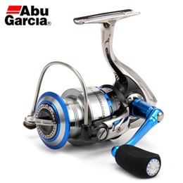 Wholesale New Arrival Abu Garcia Brand Revo Inshore Spinning Fishing Reel Saltwater BB Carbon Drag Fish Wheel with Spare Spool