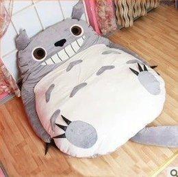 Wholesale 2016 Big Size My Neighbor Totoro Stuffed Plush Toys Doll Large Cat Animals Soft TV Movie Character Cartoon Tatami Bean Bag Doubl