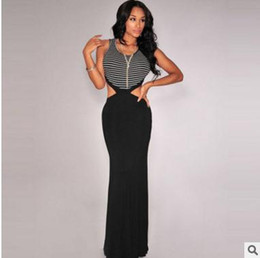 Wholesale Real Photo Sexy Sheer Formal Mermaid Dresses Evening Wear Sequins Beaded Backless Sweep Train Long Pageant Prom Gowns