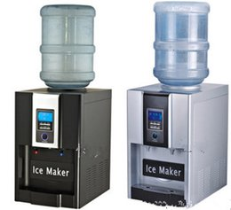 Wholesale ICE and hot two functions household and commercial automatic bullet ice maker machine for family small bar coffee shop