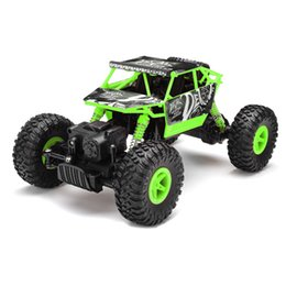 Wholesale 1 Scale RC Rock Crawler Car ABS Rubber Plastic Anti interference RC Toy with Two Way Transmission for Kids