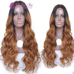 8A Ombre Brazilian human hair lace Wig Human Hair Wigs Glueless Full Lace Wigs Lace Front Wigs For Black Women