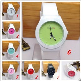 Wholesale High Quality Brand S New Fashion Casual Silicone Watches With Quartz Unisex WristWatches For Men Women Gift