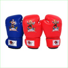 Wholesale Kid Boxing MMA Mitts Sanda Karate Sandbag Taekwondo Protector Gloves for Children