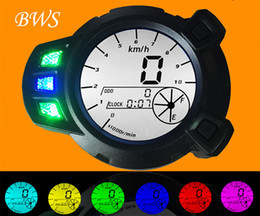 Wholesale 12v LCD Speedometer Odometer Motorcycle Tachometer For Yamaha Zuma BWS x BMK YW125 PRM Colour Backlight