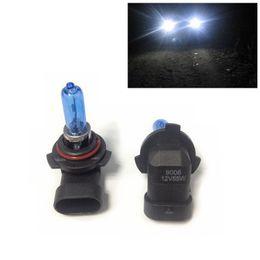 2pcs 12V 55W 9006 Ultra-white Xenon HID Halogen Auto Car Headlights Bulbs Lamp Auto Parts Car Light Source Accessories