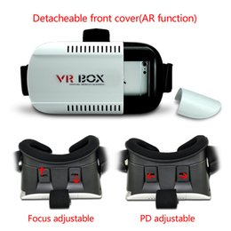 Wholesale 3D Box VR Vewing Glasses PU Headset Movie For Android and IOS Mobile Phone Glasses Games Accessories