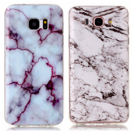 Wholesale Fashion Stone Marble Rock Grain Soft TPU IMD Case For Galaxy S8 Edge S7 Edge S6 Grand Prime G530 J5 J7 J3 J310 J510 J710 S5 Gel Covers Skin