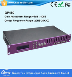 4 in 8 out China manufactuer Professional DSP Sound Digital Signal Audio Speaker Processor DP480 with factory price