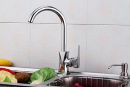 Wholesale And Retail Tall Bathroom Basin Faucet Chrome Finish Solid Brass Vanity Sink Mixer Tap Single Handle Hole