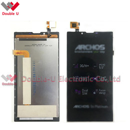 Wholesale 1pcs For Archos platinum LCD Display Touch Screen Digitizer Assembly Replacement with Tracking