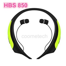 Wholesale HBS HBS850 Premium Wireless Headphone Super Bass Bluetooth Sports Neckband Tone Active Stereo Headsets In ear Earphone VS HBS800 HBS900