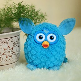 Wholesale 2016 Most Popular Furby Plush Toys Amazon Sell Best Blue Yellow Red Rose Bungundy Lovely Soft Toys Stuffed