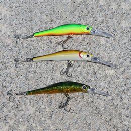 Счастливчики приманок для продажи-5pcs / серия Lucky Craft рыбалки приманку рыбалки приманку пескарь с 3-х цветов 6g 9.8cm Свободная перевозка груза