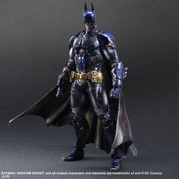 Playarts KAI Batman Arkham Knight Batman Blue Limited Ver. PVC Action Figure Collectible Toy 28cm