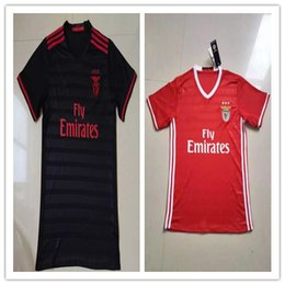 Wholesale 16 benfica soccer jersey top thailand quality benfica soccer jersey benfica home soccer jersey SL Benfica home away t shirts