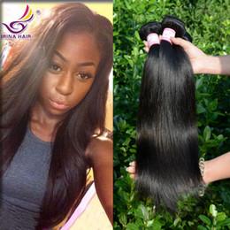 Wholesale Brazilian Virgin Hair Straight bundles a Unprocessed Virgin Remy Human Hair Extensions Unprocessed Virgin Brazillian Straight Hair