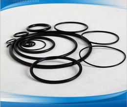 Black NBR70A O-Ring Seals ID221.84,228.19,234.54,240.89,247.26,253.59,266.29,278.99,291.69,304.39mm*C S3.53mm AS568 Standard 50PCS Lot