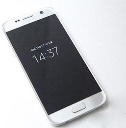 Wholesale Smartphone S7 SM G930 S7 shown bit MTK6592 Octa Core X1440 G RAM G ROM Android Lollipop inch cell phone Wifi