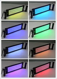 72cm extended to 90cm 18W RGB LED Aquarium Light for Fish Reef Tank 100~240V Plug and Play With Power Supply