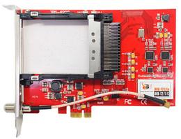 Wholesale TBS DVB T T2 C Dual Tuner Dual CI PCI e Card HD TV Receiver Support PLP