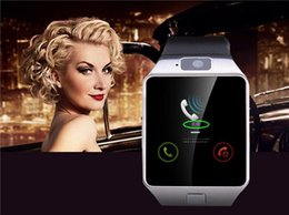 Wholesale 2015 Top Quality Smartwatch Latest DZ09 Bluetooth Smart Watch With SIM Card For Android apple Samsung IOS Android Cell phone inch