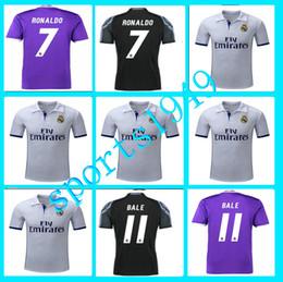 Wholesale Rugby Away Inicio Real Madrid Jerseys Camiseta Benzema James Bale Ronaldo Mayoristas Liga española Jersey