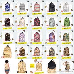Acheter en ligne Enfants de bande dessinée étudiants sacs-20 Style Mode Emoji Plaid sac à dos Sacs de voyage d'impression 3D Sac d'école Cool sacs d'étudiant de bande dessinée pour les enfants Enfants