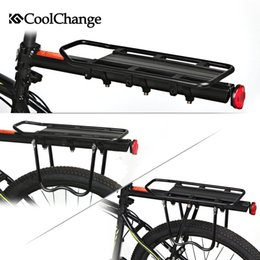 2016 CoolChange Bicycle accessories Mountain bike rack bicycle rack luggage rack can load 80KG Mountain bike manned aircraft