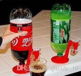 Wholesale 100 LJJH567 Fridge Fizz Saver Soda Beverage Drink Dispenser Bottle Drinking Water Dispense Machine Gadget Party Beer Gadget Machine