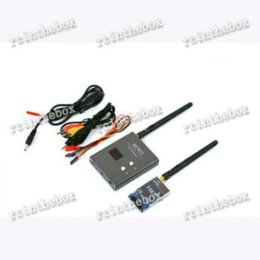 FPV 5.8G 600mW A V 32CH wireless transmitter and receiver with reliable performance for FPV TS832 + RC832 RP-SMA