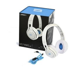 Wholesale new arrival best quality SMS Audio SYNC STREET by Cent Headphone Over Ear Wired Headphones AK014