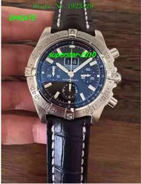 Wholesale NEW Top Quality Luxury Watches BRAND NEW MENS Motors Stainless Steel Neptune Blue Dial A44362 men watch