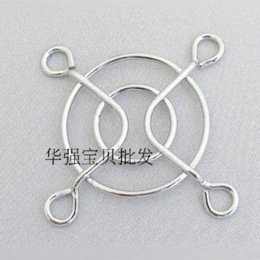 Free Shipping Wholesale DC Fan Grill Protector Silver Metal Finger fan Guard 40mm Fans & Cooling