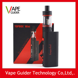 Wholesale Kanger Topbox Mini W Kit Subox Mini Pro Starter Kit Top Refilling Tank Watt TC Mod Newest KangerTech Beginner Kit