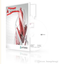 Wholesale 2016 Autodesk AutoCAD English Language Full version for WIN BIT Plastic box package Latest version