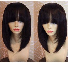 Lace Wig Human Hair Wigs For Black Women New Bob Hairstyle Brazilian Virgin Hair Lace Front Human Hair Wigs Glueless Full Lace Wigs