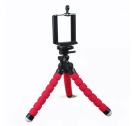 Wholesale Mini Flexible Octopus Tripod Camera Tripods Mobile Phone Holder Mount for iPhone S plus with Phone clip