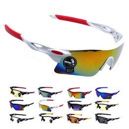 2016 Men Women Cycling Glasses UV400 Outdoor Sports Windproof Eyewear Mountain Bike Bicycle Motorcycle Glasses Sunglasses
