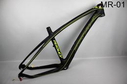 Cadres de vélo de VTT de cadre de carbone de cadre de carbure de 29ER de prix de gros-prix cadre de vélo de 15/17 / 19inch MTB vente chaude! à partir de cyclisme vélos de prix de gros fournisseurs
