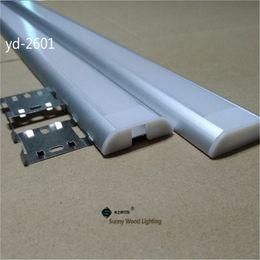 Wholesale m pc led channel wide edge led aluminium profile for strip mm PCB board led bar light yd