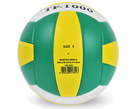 Wholesale Official size soft touch beach volleyball e friendly PVC adult outdoor indoor sports training rebound ball