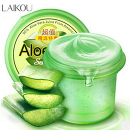Wholesale Skin Care Pure Aloe Vera Aloes Leaf Juice Gel Jelly Hydrating Moisturizing Reduce Acnes Pores Sunburn Repair acne Soothing