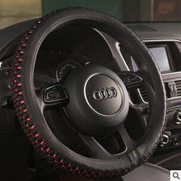 Wholesale Manufacturers summer ice silk car steering wheel cover to cover automotive interior decoration supplies white apron