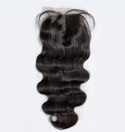 7A 4*4 Lace Closure Body Wave Deep Curly Kinky Straight Loose Wave Straight Unprocessed Brazilian Indian Malaysian Peruvian Human Hair