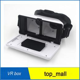 Película al rojo vivo en Línea-venta caliente 3D-03 VR caja de realidad virtual 3D Auricular Gafas de realidad virtual con la correa regulable para poder 3D Películas 3D Juegos rojo negro