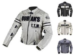 DUHAN Men's Motorcycle Racing Patrol Jacket Breathable Mesh Motorcycle Racing Jacket Jaqueta Body Armor Jacket