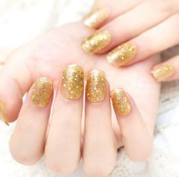 New Design Fake Nails Short French nail tips Pre Design false nails Full Cover Finger Nail Tips Bride nail decoration artificial nails