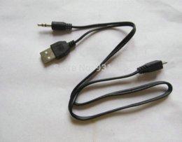 Kabel audio vidéo à vendre-2pcs micro USB B à 3,5 mm Klinken Stecker Audio / Vidéo-Kabel Avec la charge de 45 cm