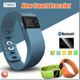 Tw64 Sport Watches Bluetooth Smart Bracelet Wristband Fashion Fitness Band Iphone and Android Better Than mi Band Large Battery 606